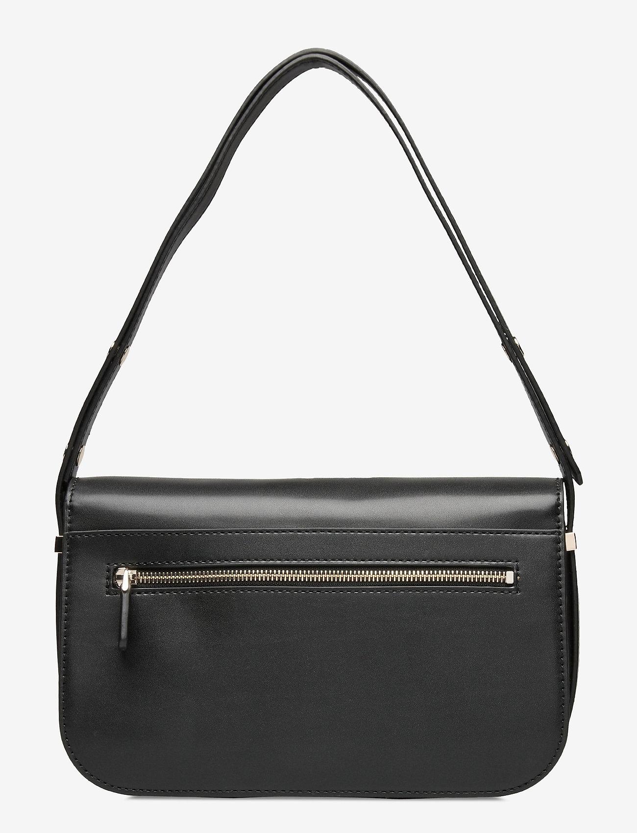 GUESS - HENSELY CNVRTBLE SHOULDER BAG - handväskor - black - 1