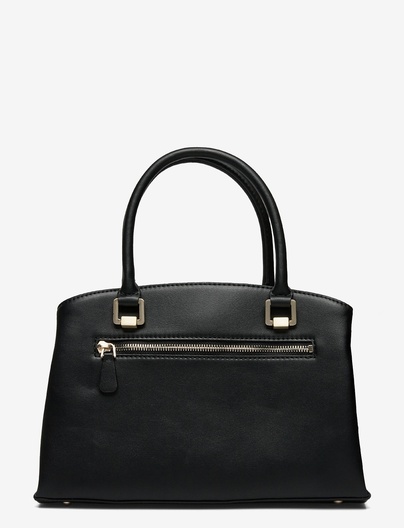 GUESS - TYREN GIRLFRIEND SATCHEL - handväskor - black - 1