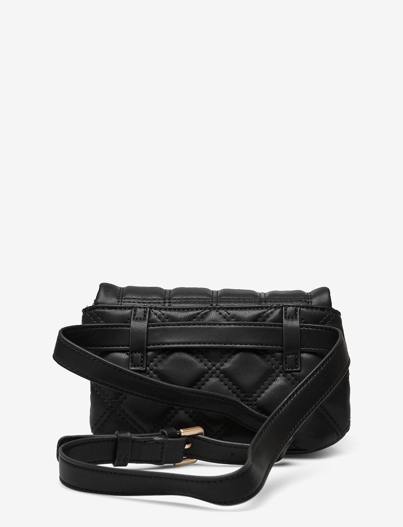 GUESS - KAMINA CNVRTBL XBODY BELT BAG - crossbody bags - black - 1