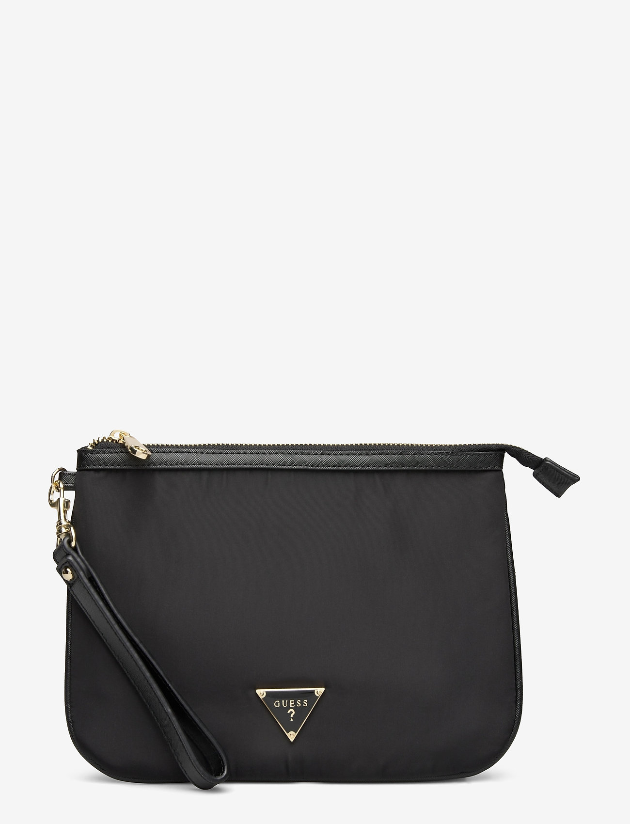 GUESS - DID I SAY 90S? FLAT TOP ZIP - clutches - black - 0