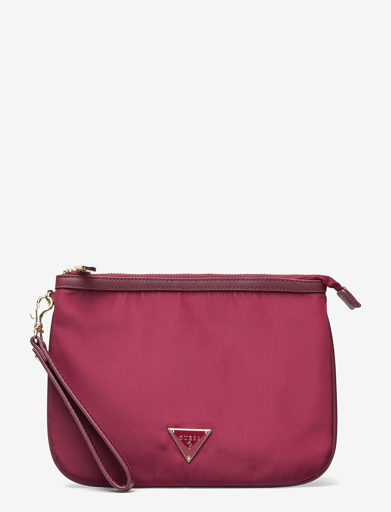 GUESS - DID I SAY 90S? FLAT TOP ZIP - clutches - burgundy - 0