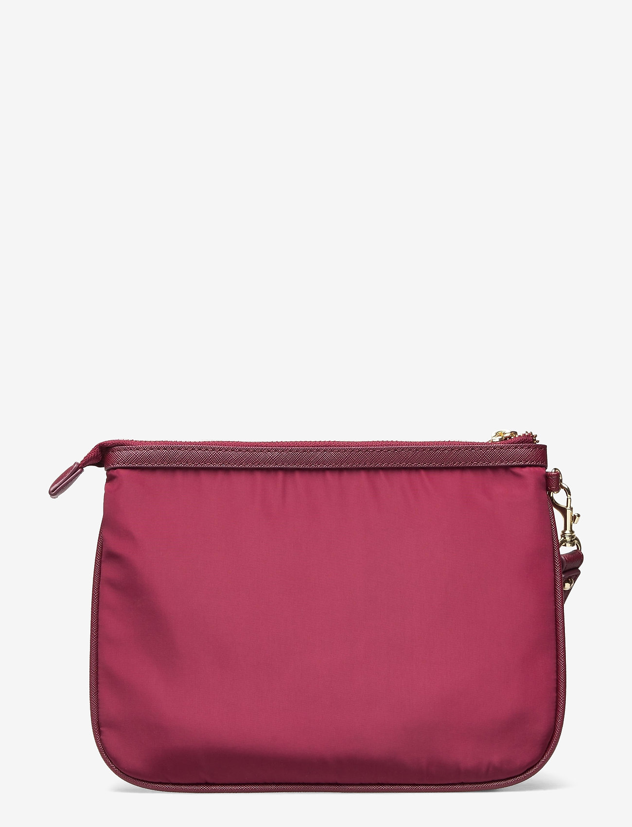 GUESS - DID I SAY 90S? FLAT TOP ZIP - clutches - burgundy - 1