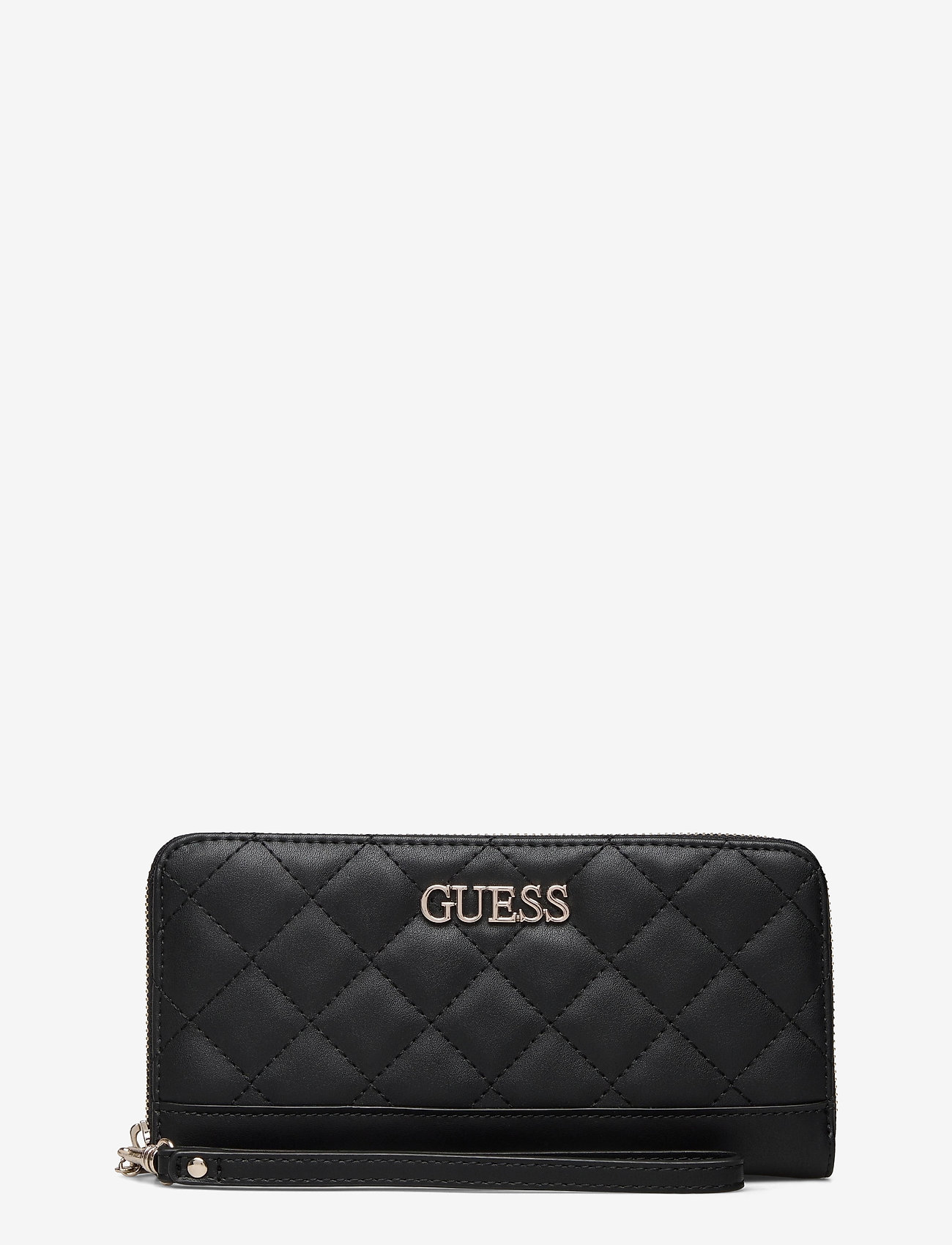 GUESS - ILLY SLG LARGE ZIP AROUND - black - 0