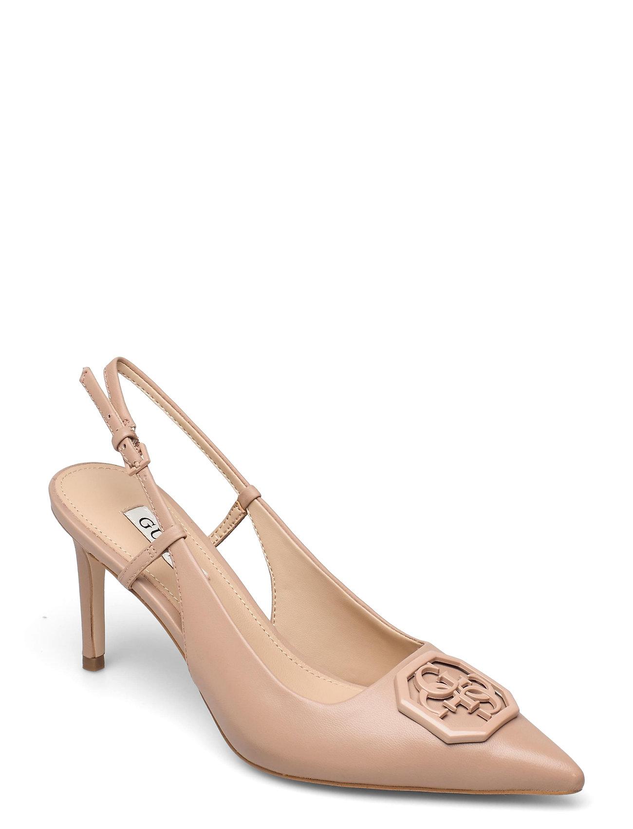 Aleny/Sandalo /Leather Shoes Heels Pumps Sling Backs Lyserød GUESS