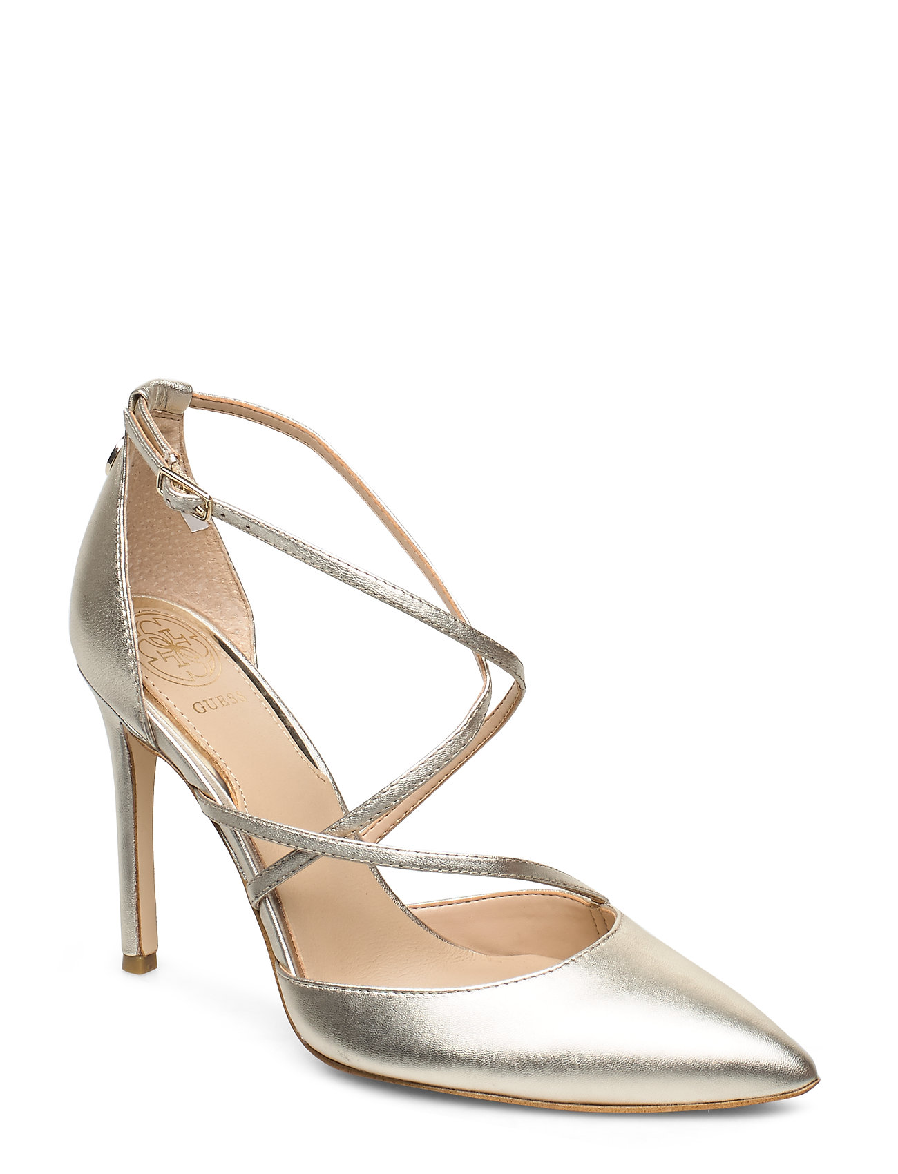 GUESS CLAUDIE/DECOLLETE (PUMP)/LEATH - GOLD