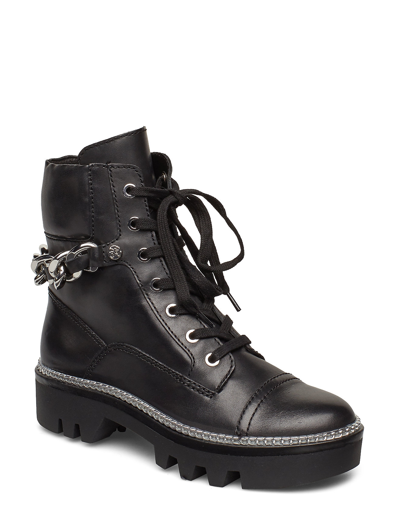 GUESS Domain/Stivaletto /Lea Shoes Boots Ankle Boots Ankle Boots Flat Heel Schwarz GUESS