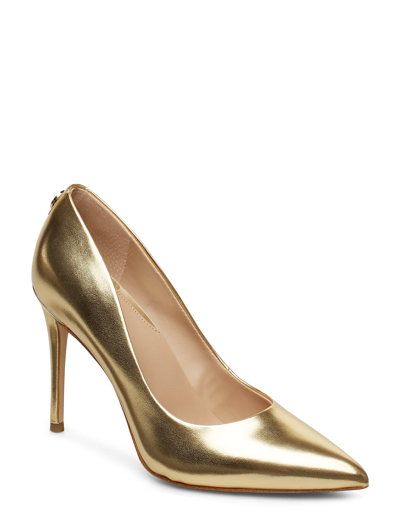 GUESS BELAN4/DECOLLETE (PUMP)/LEATHE - GOLD