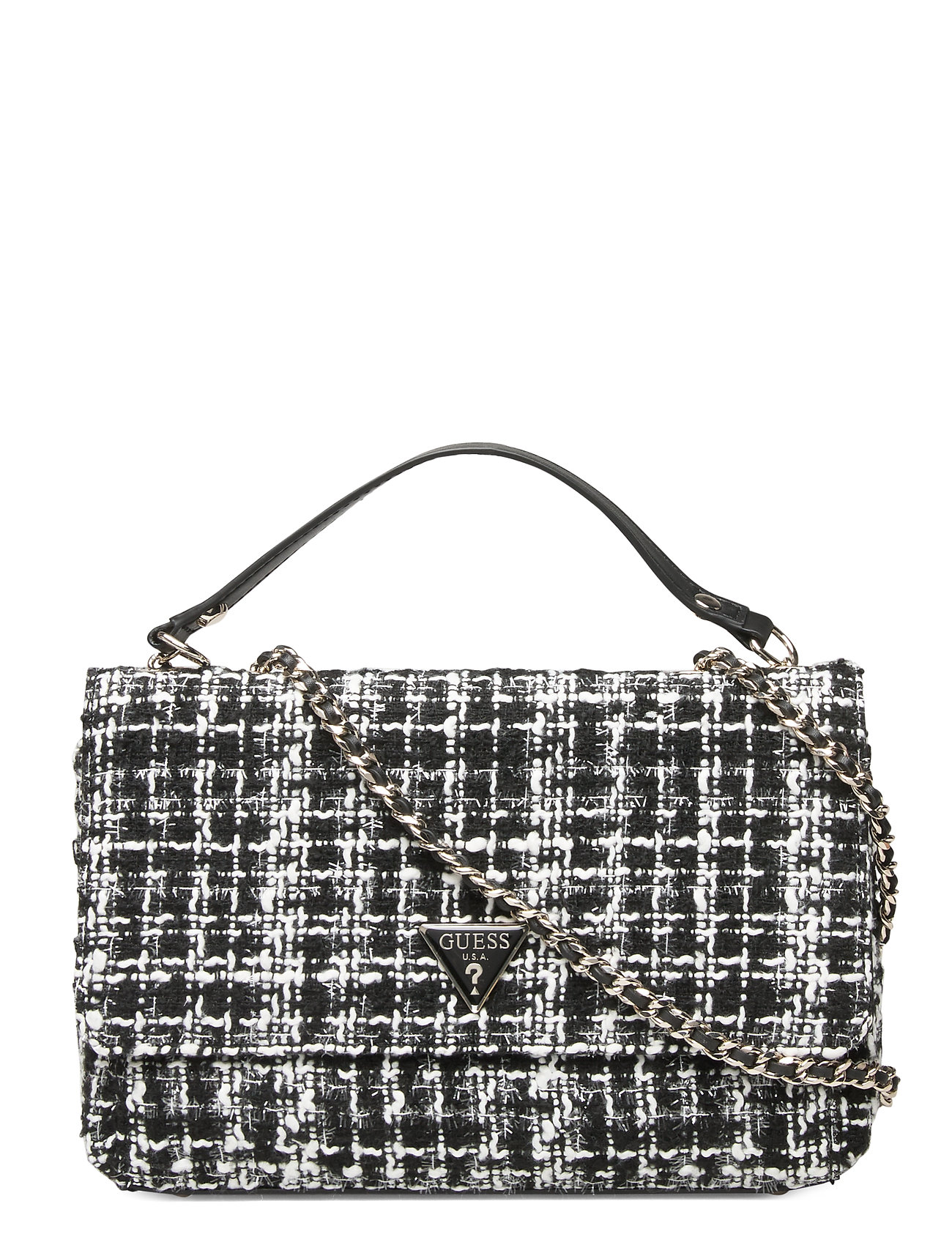 GUESS CESSILY CONVERTIBLE XBODY FLAP - BLACK MULTI