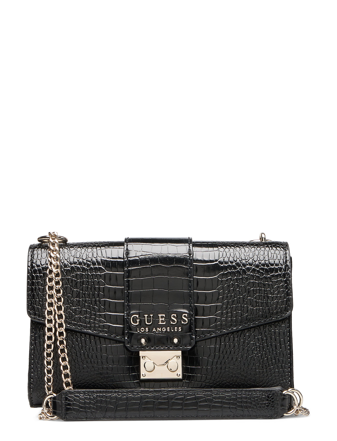 GUESS CLEO CONVERTIBLE XBODY FLAP - BLACK