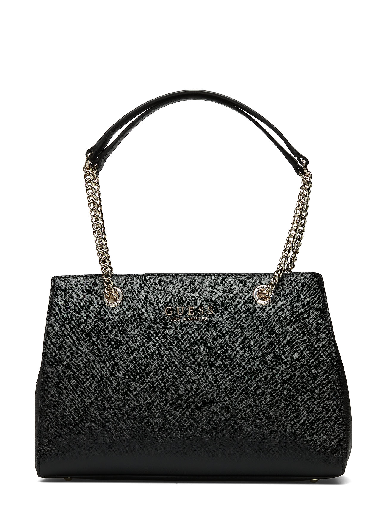 8557fb3b53262 GUESS Robyn Girlfriend Satchel Bags Top Handle Bags Schwarz GUESS