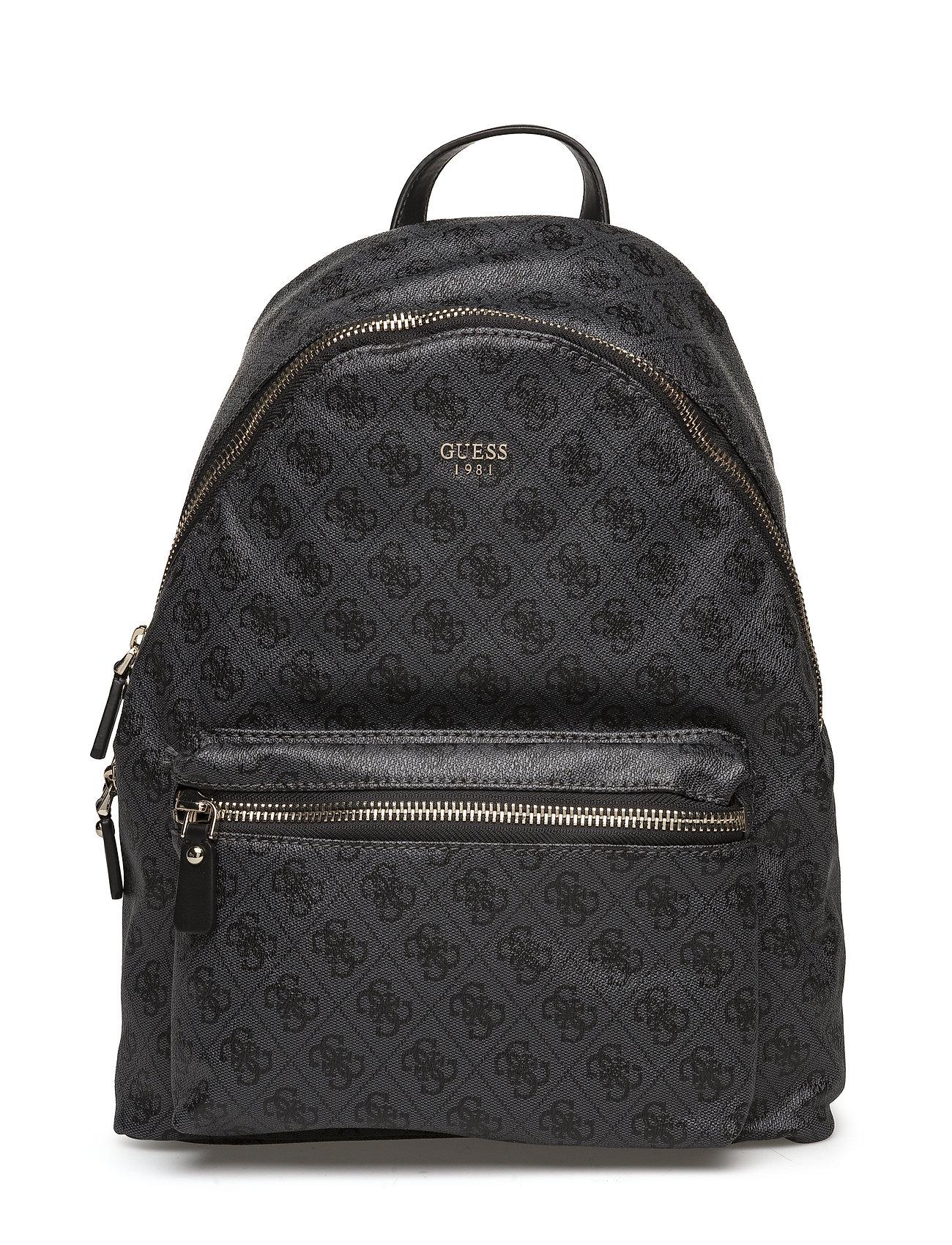 GUESS Leeza Backpack Rucksack Tasche Schwarz GUESS