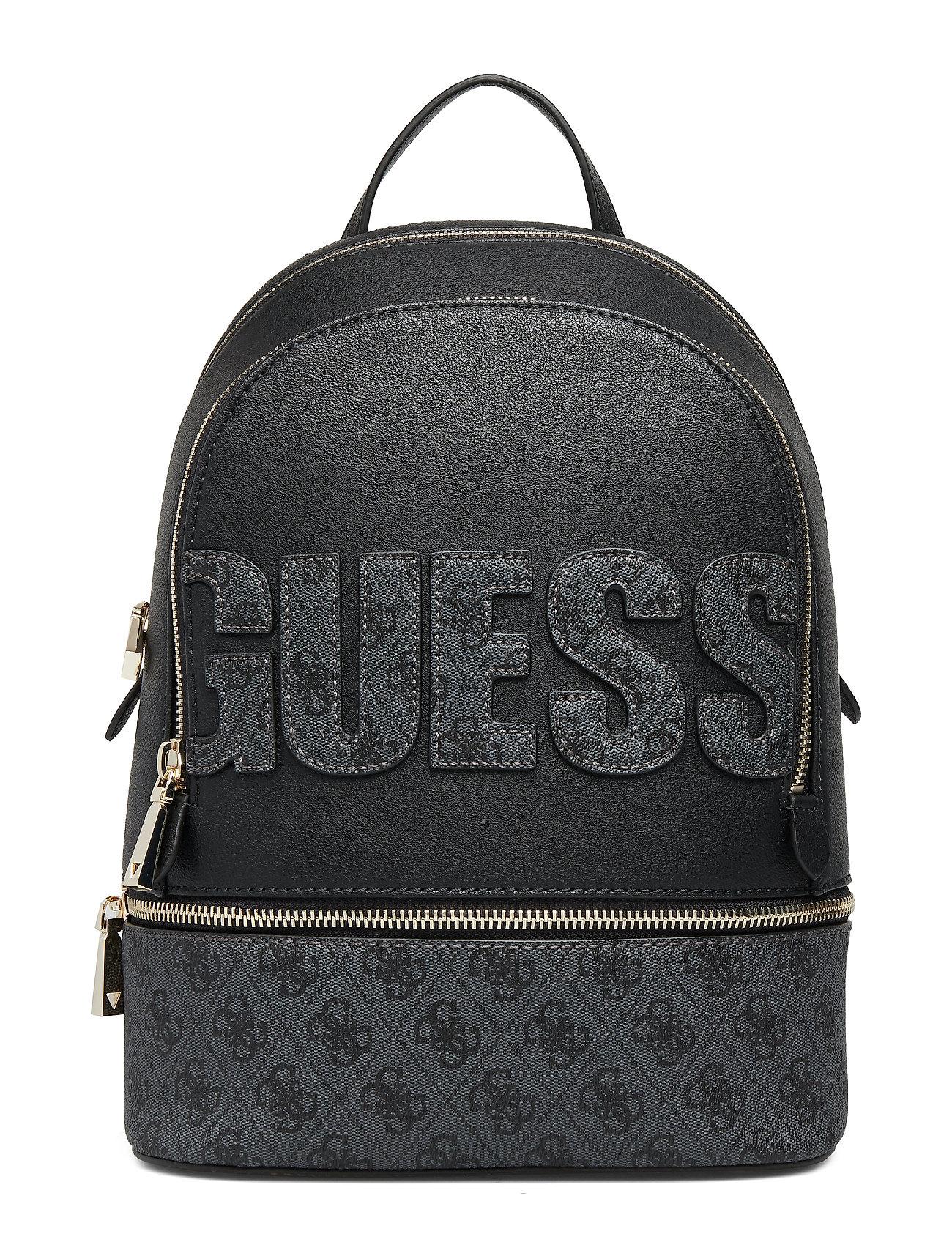 GUESS Skye Large Backpack Bags Backpacks Fashion Backpacks Schwarz GUESS
