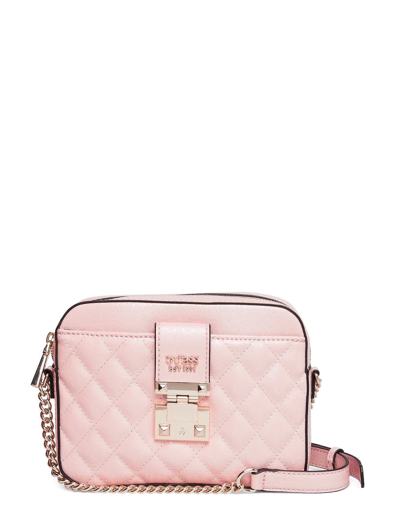 Image of Tiggy Camera Bag Bags Small Shoulder Bags/crossbody Bags Lyserød GUESS (3193759199)