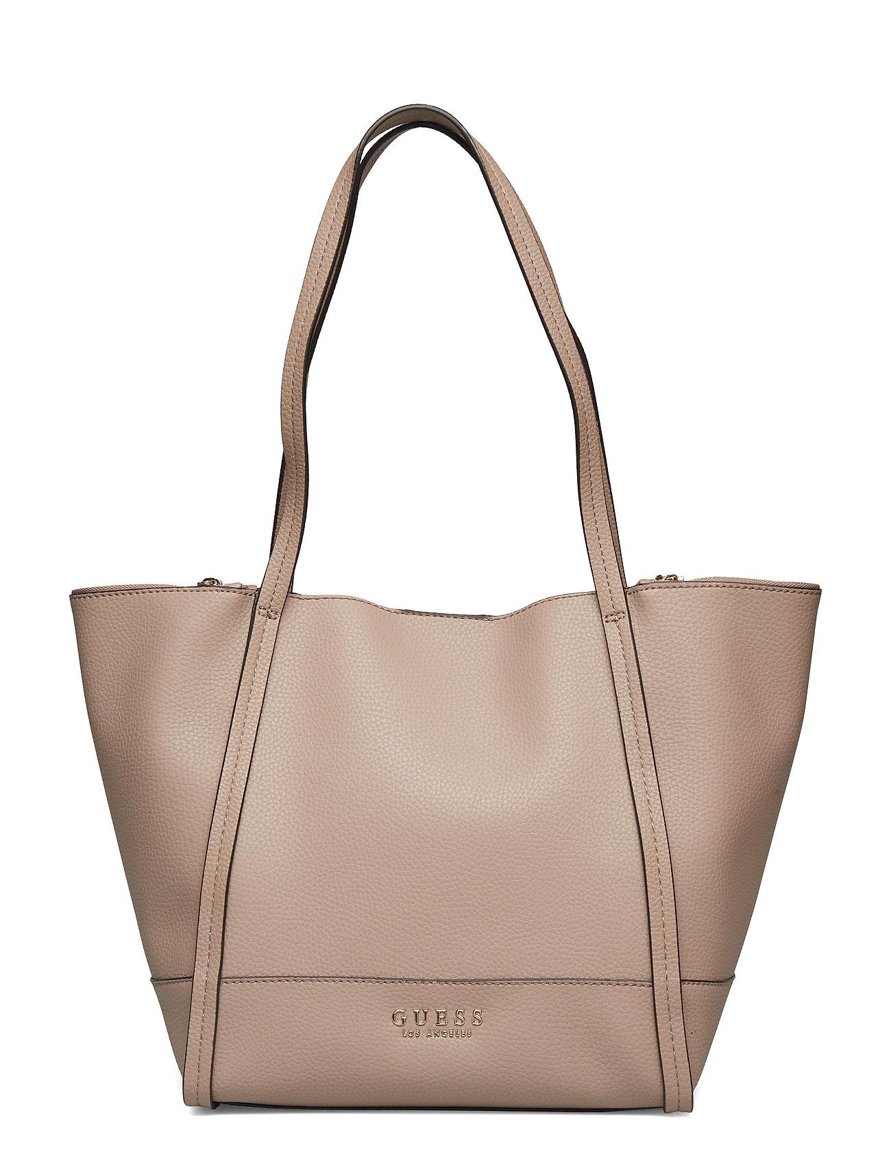 GUESS Heidi Tote Shopper Tasche Beige GUESS