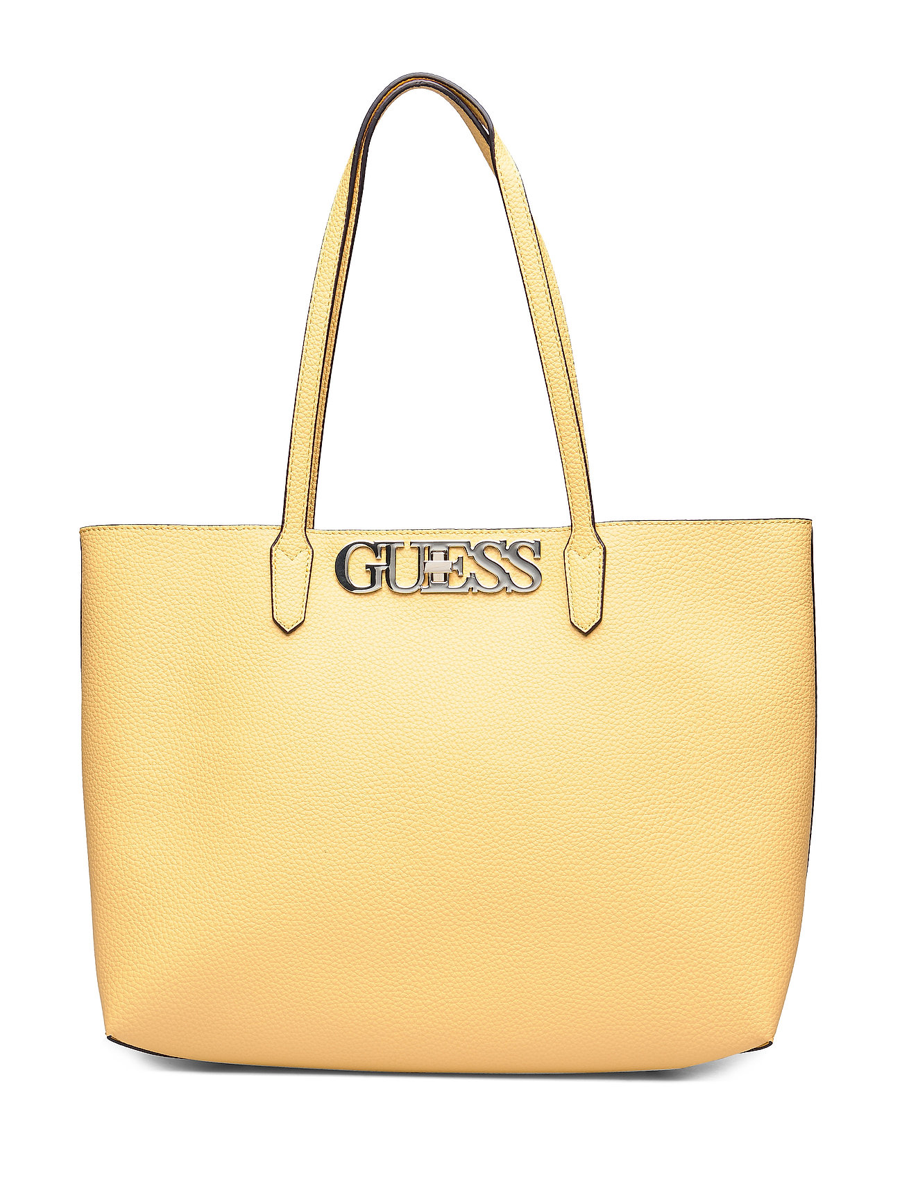 GUESS UPTOWN CHIC BARCELONA TOTE - YELLOW