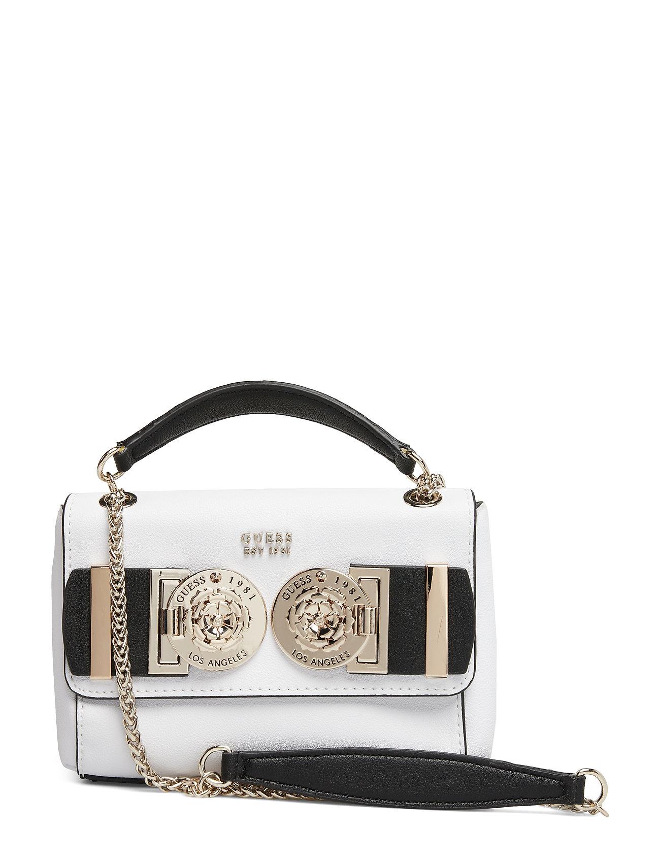 GUESS Carina Mini Convtbl Crsbdy Flp Bags Card Holders & Wallets Wallets Weiß GUESS