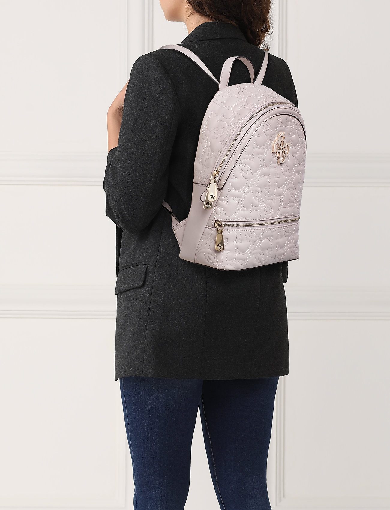 GUESS NEW WAVE BACKPACK - MOONSTONE
