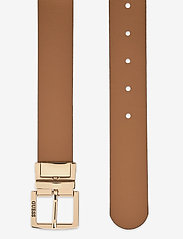 GUESS - TYREN ADJ&REV PANT BELT - skärp - brown multi - 4