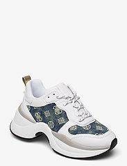 GUESS - JENNEA/ACTIVE LADY/LEATHER LIK - chunky sneakers - white - 0