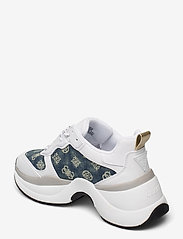 GUESS - JENNEA/ACTIVE LADY/LEATHER LIK - chunky sneakers - white - 2