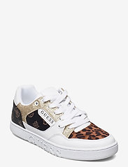 GUESS - JULIEN2/ACTIVE LADY/LEATHER LI - låga sneakers - whibr - 1