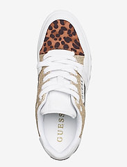 GUESS - JULIEN2/ACTIVE LADY/LEATHER LI - låga sneakers - whibr - 3