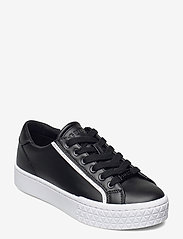 GUESS - PARDIE/ACTIVE LADY/LEATHER LIK - låga sneakers - blkwh - 1