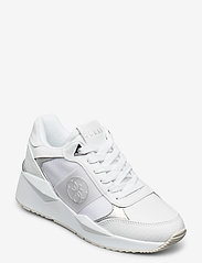 GUESS - TESHA/ACTIVE LADY/LEATHER LIKE - låga sneakers - whisi - 0