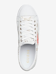 GUESS - BARONA/ACTIVE LADY/LEATHER LIK - baskets - white - 3