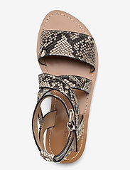 GUESS - CEVIE2/SANDALO (SANDAL)/LEATHE - platta sandaler - grey - 3