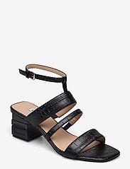 GUESS - MALIN2/SANDALO (SANDAL)/LEATHE - sandales à talons - black - 0
