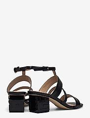 GUESS - MALIN2/SANDALO (SANDAL)/LEATHE - sandales à talons - black - 4