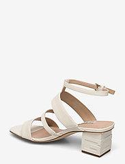 GUESS - MALIN2/SANDALO (SANDAL)/LEATHE - högklackade sandaler - ivory - 2
