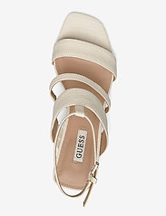GUESS - MALIN2/SANDALO (SANDAL)/LEATHE - högklackade sandaler - ivory - 3
