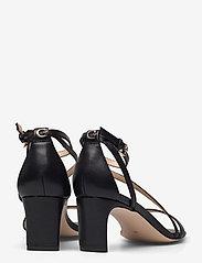 GUESS - SELBY2/SANDALO (SANDAL)/LEATHE - sandales à talons - black - 4