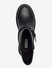 GUESS - ORICAN/STIVALETTO (BOOTIE)/LEA - platte enkellaarsjes - black - 3