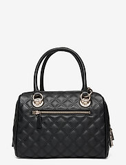 GUESS - CESSILY BOX SATCHEL - handväskor - black - 1