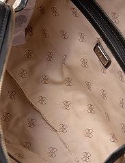 GUESS - CESSILY BOX SATCHEL - handväskor - black - 4