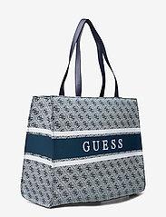 GUESS - MONIQUE TOTE - shoppingväskor - blue - 2