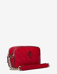GUESS - NOELLE CROSSBODY CAMERA - crossbody bags - red - 2