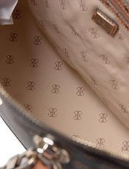 GUESS - CESSILY DOME SATCHEL - handväskor - mocha multi - 4