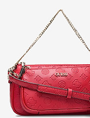 GUESS - DAYANE DOUBLE POUCH CROSSBODY - axelremsväskor - red - 3