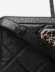 GUESS - DILLA GIRLFRIEND CROSSBODY - crossbody bags - black - 3