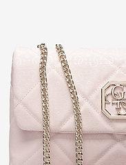 GUESS - DILLA CONVERTIBLE XBODY FLAP - crossbody bags - blush - 3