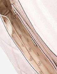 GUESS - DILLA CONVERTIBLE XBODY FLAP - crossbody bags - blush - 4