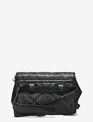 GUESS - DILLA CNVRTBLE XBODY BELT BAG - crossbody bags - black - 1
