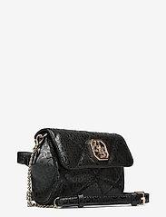 GUESS - DILLA CNVRTBLE XBODY BELT BAG - crossbody bags - black - 2