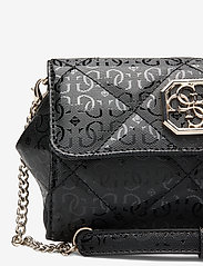 GUESS - DILLA CNVRTBLE XBODY BELT BAG - crossbody bags - black - 3
