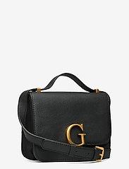 GUESS - CORILY CONVERTIBLE XBODY FLAP - handväskor - black - 2