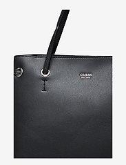 GUESS - DIGITAL SHOPPER - torby na zakupy - black - 4